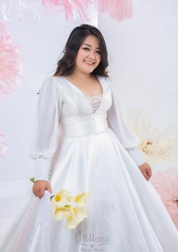 Váy Cưới Big size Aline Shine04